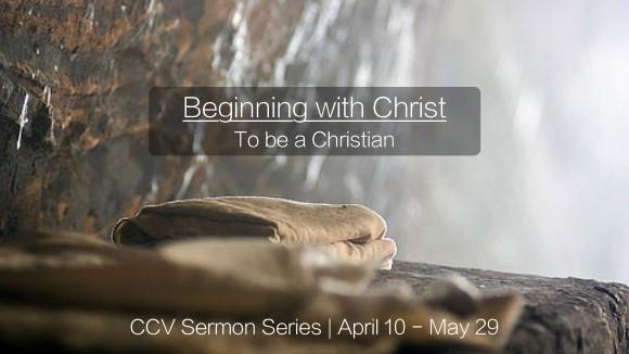 Beginning w Christ Image